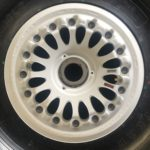 27350-105 Bombardier Global Express wheel