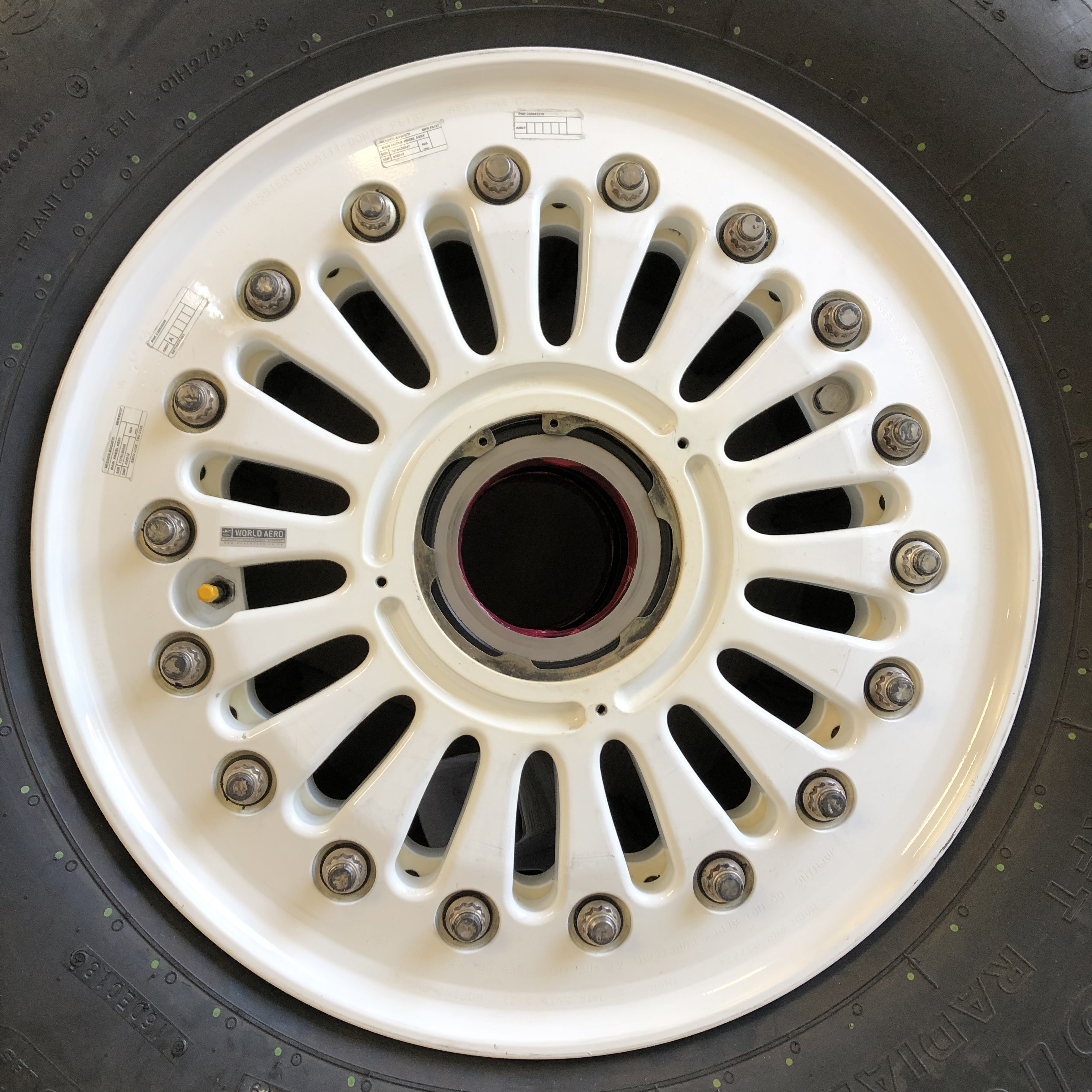 S277A016-550 Boeing 737NG Boeing 737MAX wheel
