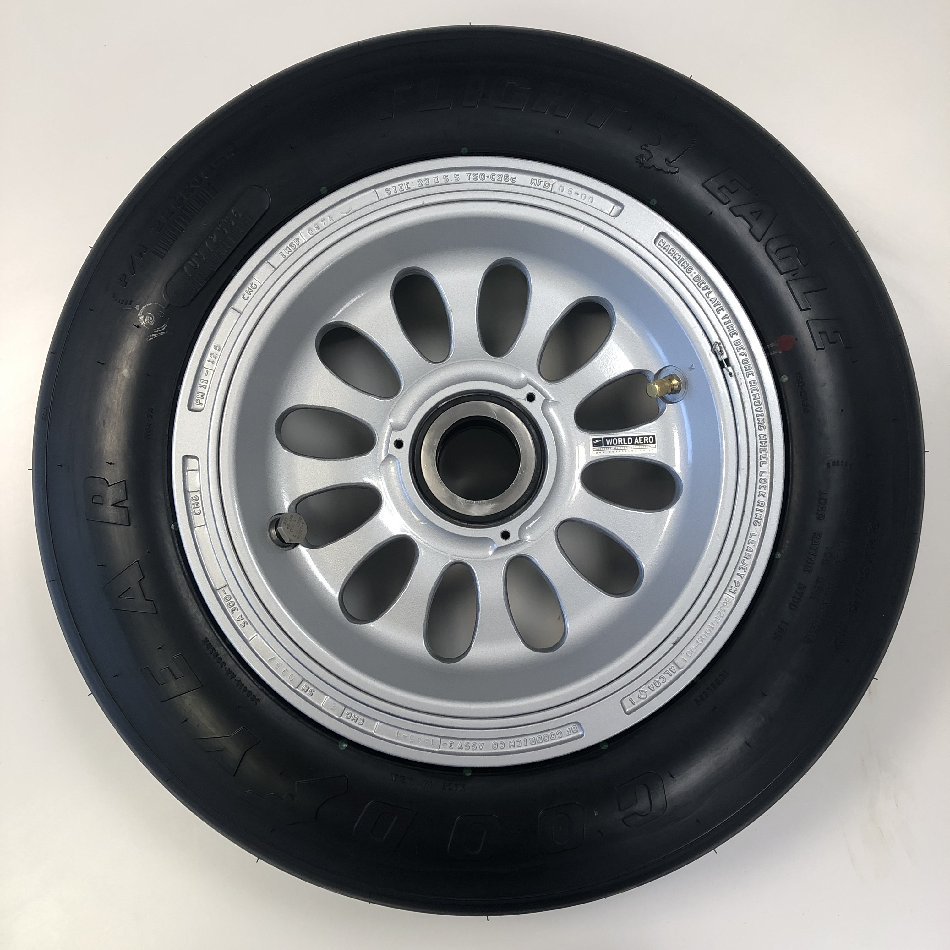 k600-85032-7 Bombardier Learjet 40 45 75 wheel