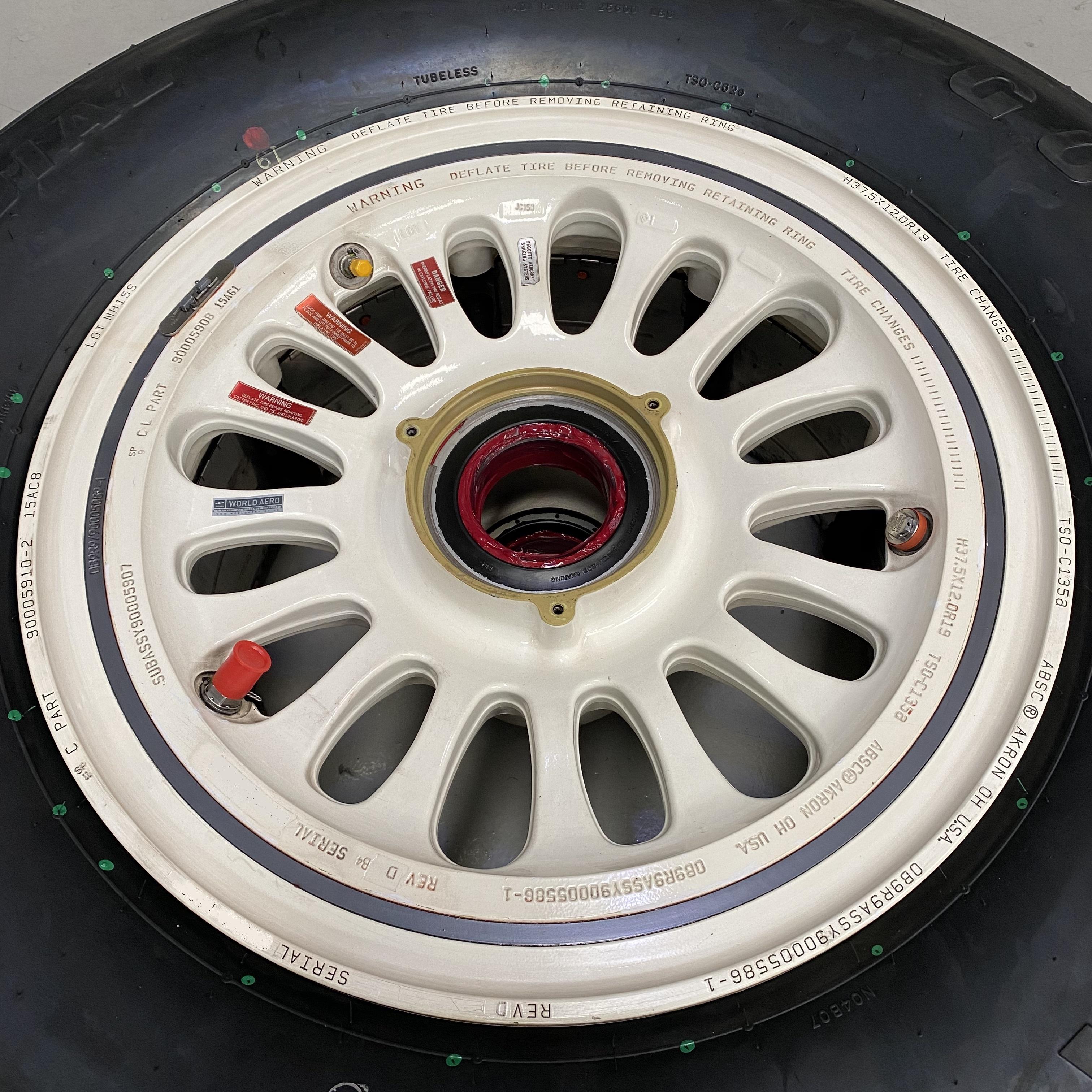90005586-1 Gulfstream 650 650ER main wheel